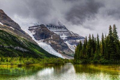 Fotomural Senderismo Berg Lake Trail