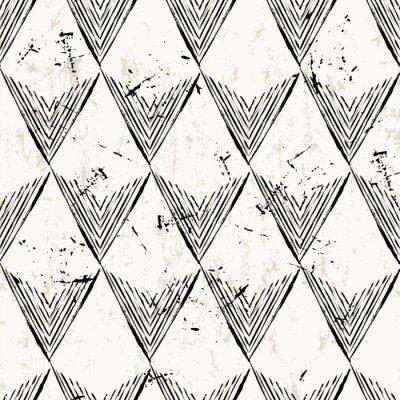 Fotomural Sin patrón de fondo, con triángulos, golpes y splashe