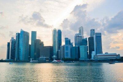 Fotomural Singapur cener negocio