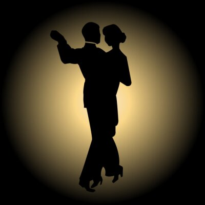 Fotomural Slow dance