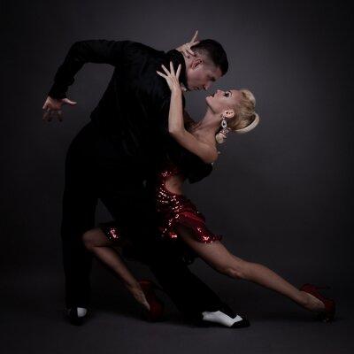 Fotomural socios de danza