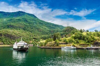 Fotomural Sognefjord en Noruega