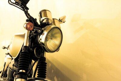 Fotomural Split toning  vintage Motorcycle