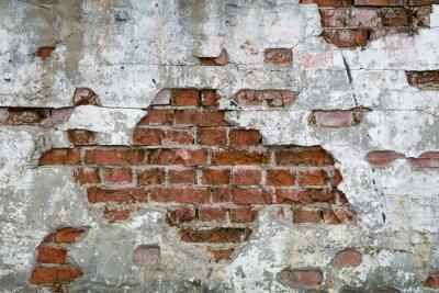 Fotomural Stara Cegla - Sciana, mur