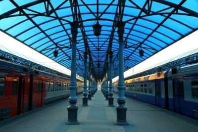 Fotomural Stazione ferroviaria Jaroslavskij