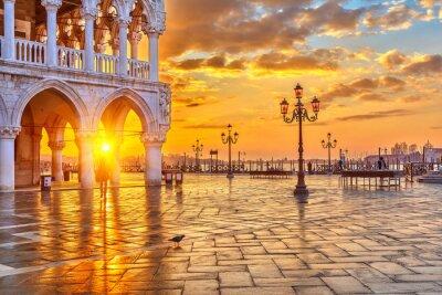 Fotomural Sunrise in Venice