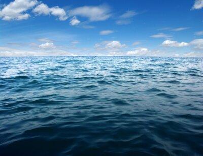 Fotomural Superficie azul del agua de mar
