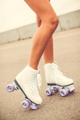 Fotomural Sus nuevos patines.