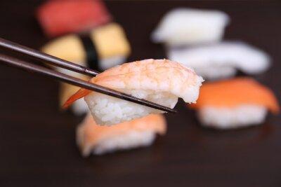 Fotomural Sushi comida japonesa