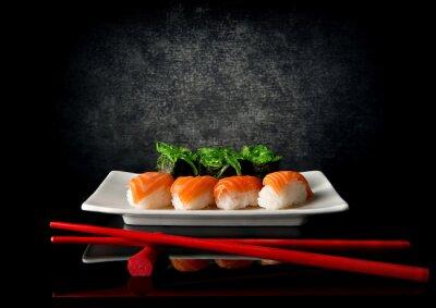 Fotomural Sushi con palillos