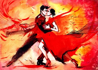 Fotomural tango