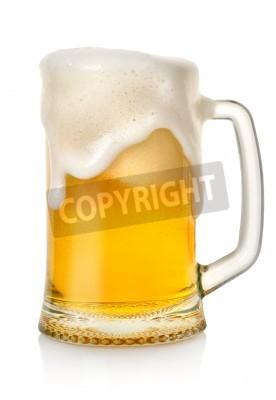 Fotomural Taza con cerveza
