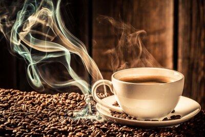 Fotomural Taza de café con sabor semillas tostadas