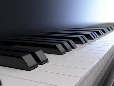 Fotomural Teclado de piano
