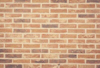 Fotomural Textura de la pared de ladrillo de piedra marrón y fondo sin fisuras.