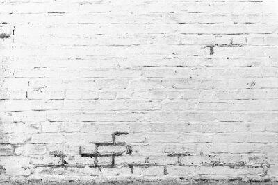 Fotomural Textura de ladrillo con arañazos y grietas