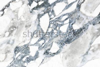Fotomural Textura de mármol blanco con patrón natural para el fondo.