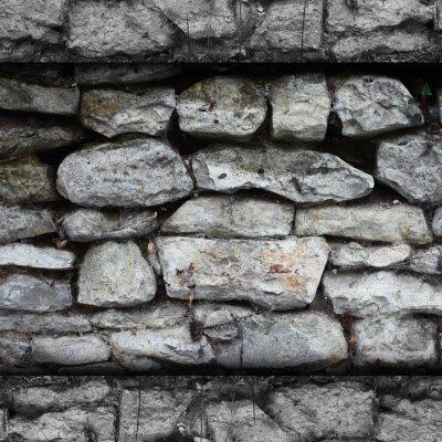 Fotomural textura de piedra de fondo de la superficie abstracta arquitectura pared de roca