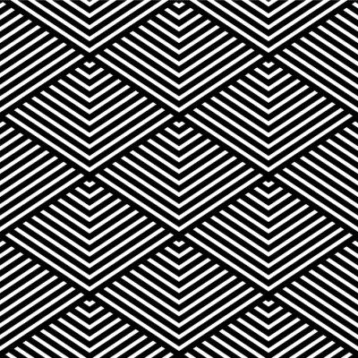 Fotomural Textura geométrico transparente.