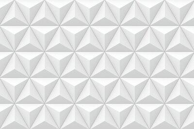 Fotomural Textura tridimensional geométrica triangular