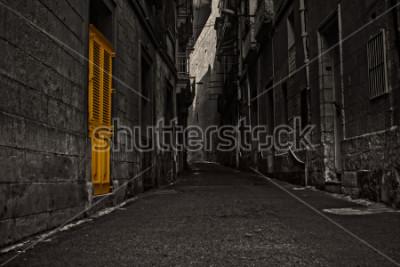 Fotomural The Yellow Door
