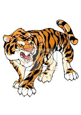 Fotomural Tigre