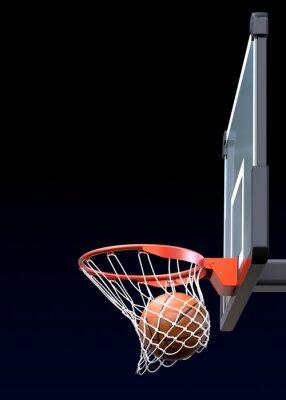 Fotomural Tiro de baloncesto
