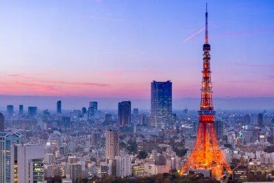 Fotomural Torre de Tokio, Tokio, Japón