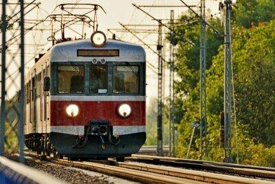 Fotomural transporte ferroviario