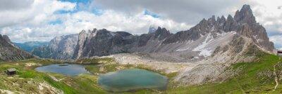 Fotomural Trekking en el Parque Nacional Tre Cime, Dolomitas