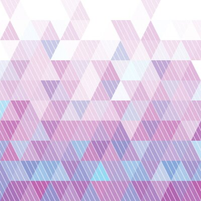 Fotomural Triangles Pattern