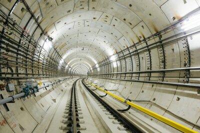 Fotomural túnel del metro