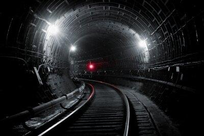 Fotomural Túnel del subterráneo de Kiev