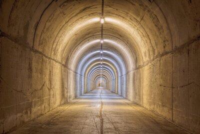 Fotomural Túnel sin fin