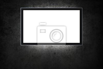 Fotomural TV en blanco