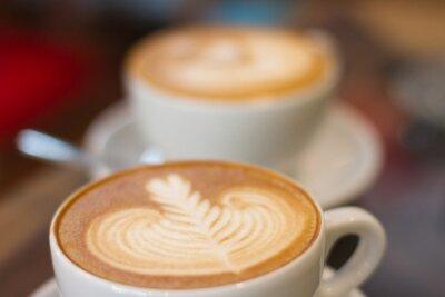 Fotomural Último café softfocus
