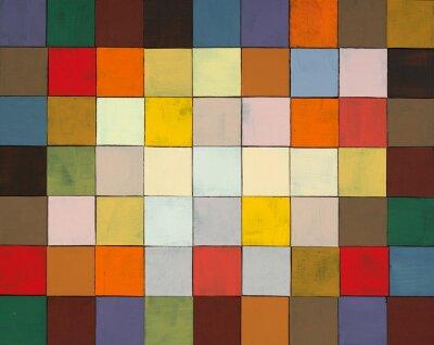 Fotomural un collage pintado abstracto