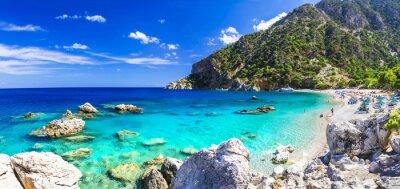 Fotomural Una de las playas más bellas de Grecia - Apella, Karpathos