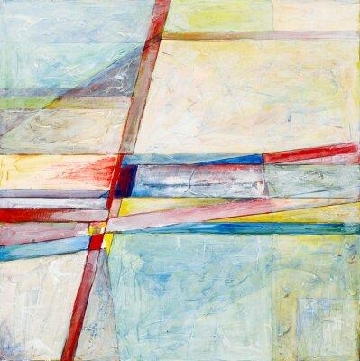 Fotomural una pintura abstracta