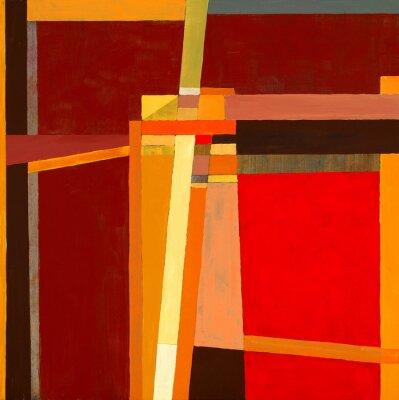 Fotomural una pintura abstracta modernista