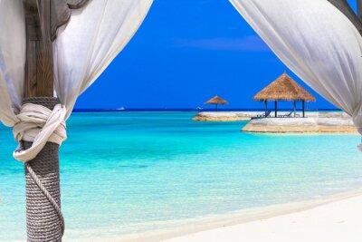 Fotomural Vacaciones relajantes en el paraíso tropical