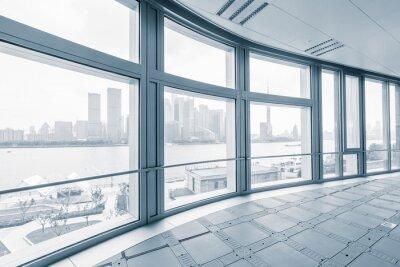Fotomural Vacío, oficina, habitación, moderno, oficina, edificios