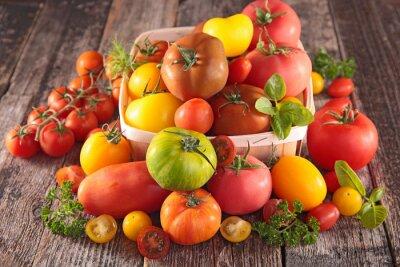 Fotomural Variedad de tomates