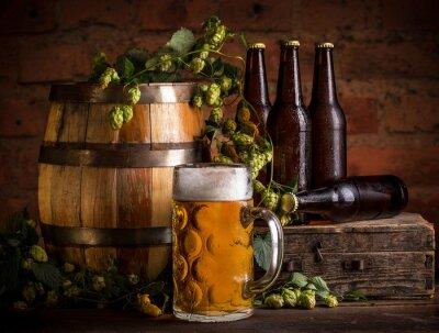 Fotomural Vaso de cerveza