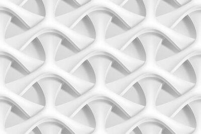 Fotomural Vector abstracto patrón geométrico abstracto 3d ondas