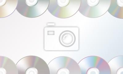 Fotomural Vector CD