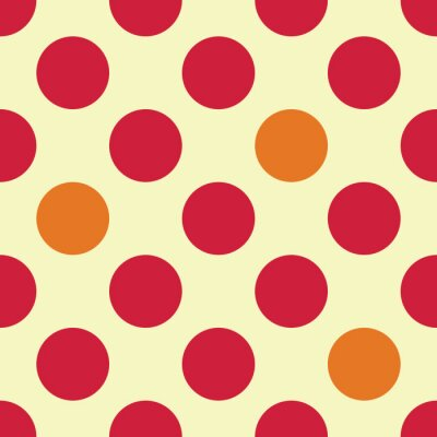 Fotomural Vector moderno patrón de puntos de geometría colorido transparente, color resumen de antecedentes geométricos, almohada impresión multicolor, textura retro, diseño de moda hipster