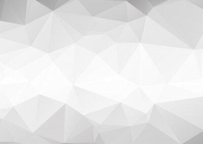 Fotomural Vector triángulos grises resumen de antecedentes