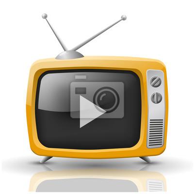 Fotomural Vector TV