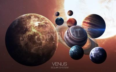 Fotomural Venus - imágenes de alta resolución presenta planetas del sistema solar.